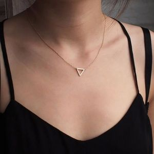 3 for $20 Triangle Statement necklace
